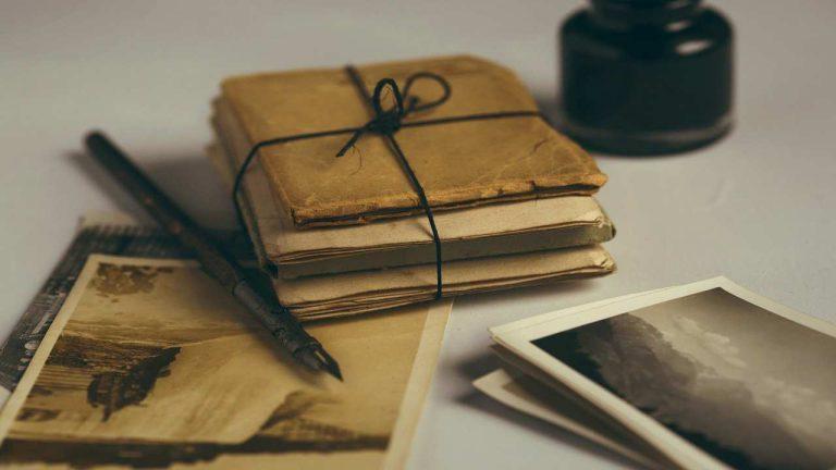 نامه قدیمی